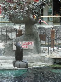 Sea Lions Rock, West Edmonton Mall